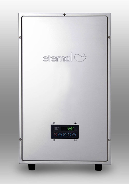 Eternal Hybrid tankless hot water heaters provide hot water on demand at an energy cost savings.  Stop by Yurkovic Plumbing to find out more.